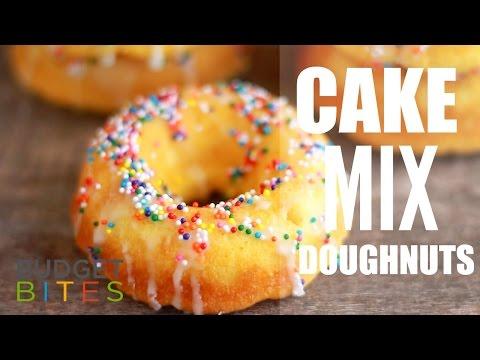 Cake Mix Doughnuts | Budget Bites