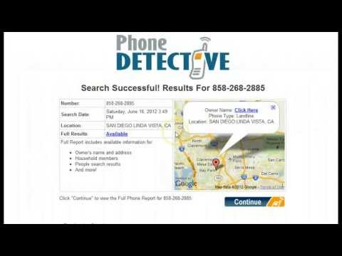 Phone Detective - The Best Reverse Phone Number Lookup Software