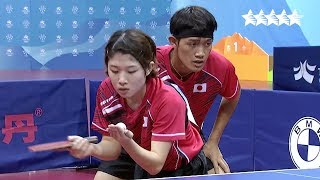 Table Tennis Miixed Doubles Gold medal contest - 29th Summer Universiade 2017, Taipei