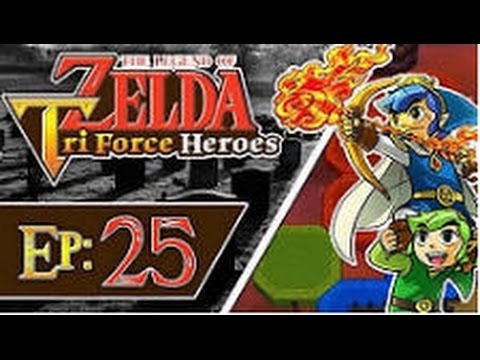 The Legend of Zelda: Triforce Heroes - Part 25: Illusory Mansion (3 Players)