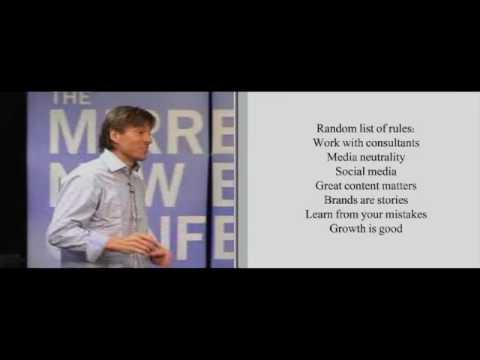 The 2010 Mirren New Business Conference, Alex Bogusky Video 5 of 6