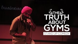 The Truth About Gyms-Stand Up Comedy| Vikramjit Singh