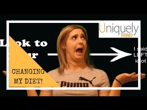 CHANGING MY DIET - Vlog