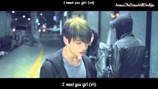 BTS - I Need U MV [Eng Sub Romanization Hangul] HD