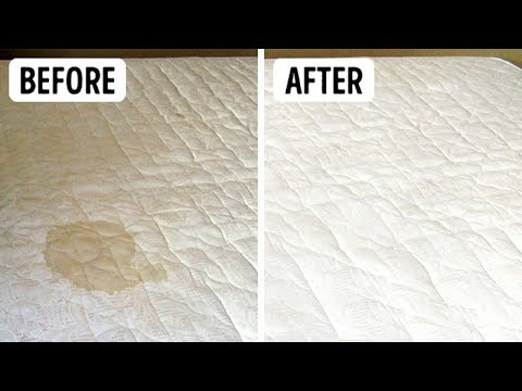 How to Clean Pee & Stains off a Mattress with Baking Soda & Vinegar Properly
