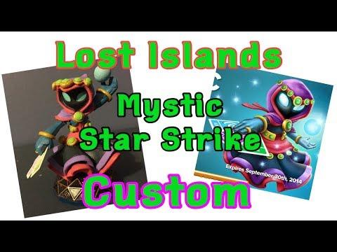 Custom Skylanders Lost Islands Mystic Star Strike