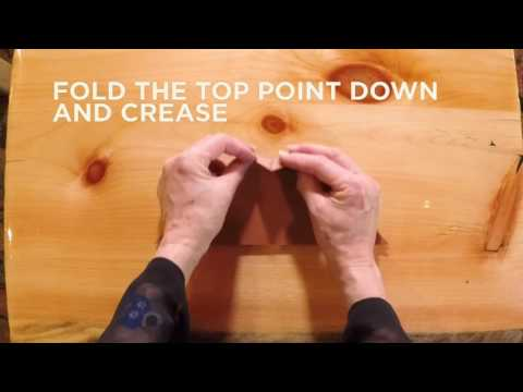 Great Wolf Lodge Origami Tutorial: How to Make a Paw (Full Step-by-Step)