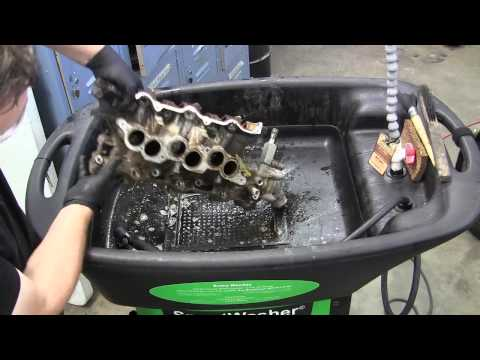 Cleaning auto parts the smart way - Smart Washer parts cleaner