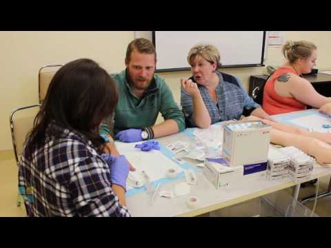 Students learn about rural healthcare and lifestyles at Oyen skills weekend