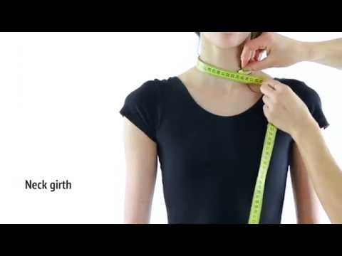 How to Measure a Gymnast for Rhythmic Gymnastics Leotard & Acrobatic Gymnastics Dress Sewing