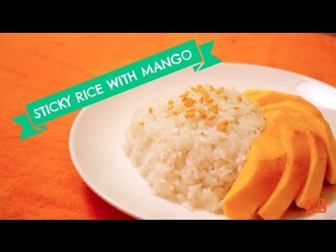How to Make Sticky Rice with Mango