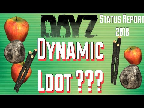 DYNAMIC Loot Spawns?...Dayz Standalone BETA/.63 Status Report