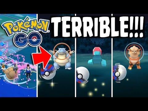 Pokemon GO | WORST WILD BLASTOISE EVER!! & Wild Porygon - Rare Pokemon Catching Spree!