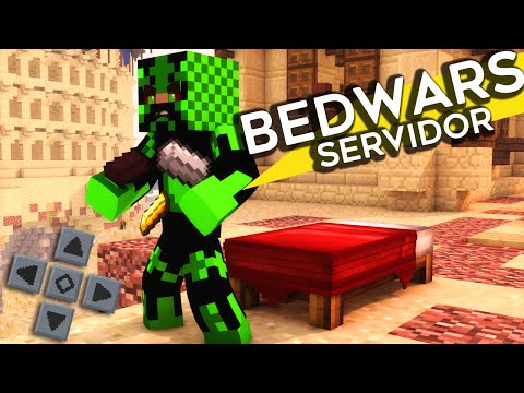 Servidor de BEDWARS - Minecraft PE 1.0.2 (MCPE SERVER 1.0.2)