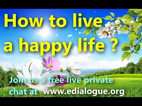 This video just might change your life! !! How to live a happy life ? HD 1080P