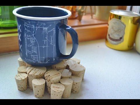 How to Make Wine Cork Coasters