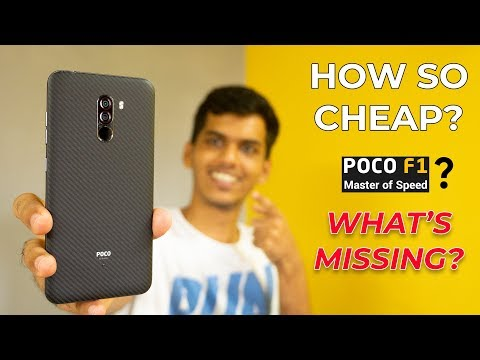 This is Why POCO F1 is so Cheap! Best valued smartphone?