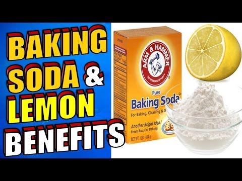 The Amazing Benefits of Baking Soda & Lemon Juice for Acne, Cancer & Teeth Whitening