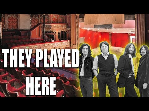Abandoned Beatles Theatre FOUND With Power And Running WATER (Secret Community Inside)