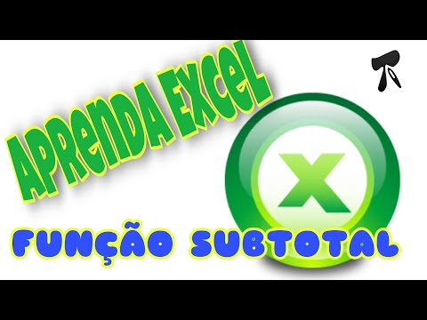 Excel 2007 - Modulo 2 - Aula 10 - Funcao Subtotal