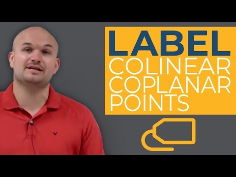 CCSS How to Label Collinear and Coplanar Points