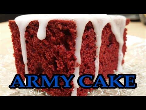 Army Cake Taste Test for my Birthday