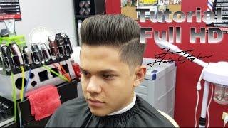 Tutorial-Classic Pompadour Paso a Paso Corte y Peinado Full HD