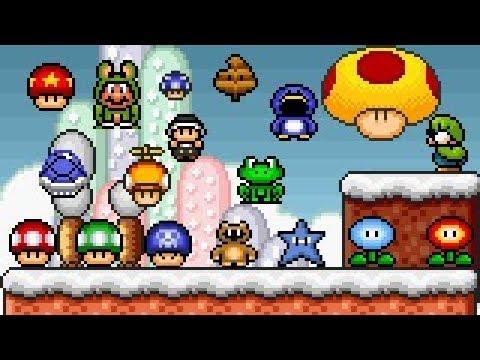 Download Super Mario Bros X (SMBX 1 4 4) - PowerUps GFX