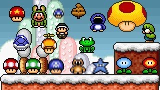 PREVIEW] Super Mario Bros  X (SMBX 1 4 4) Custom Level -