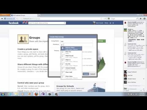 How to Create Facebook Group 2013 Tutorial