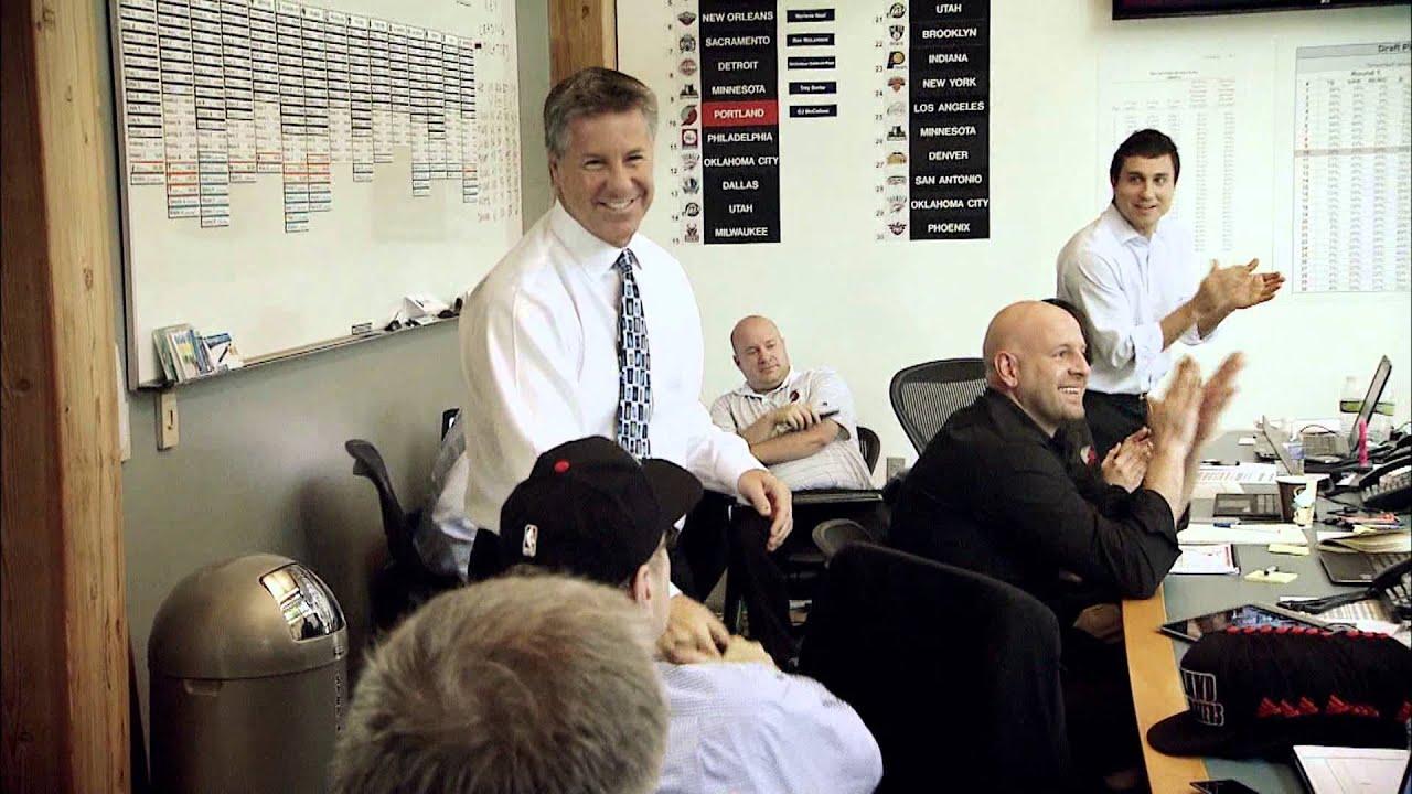 Inside The 2013 Trail Blazers Draft Room: CJ McCollum, Allen Crabbe