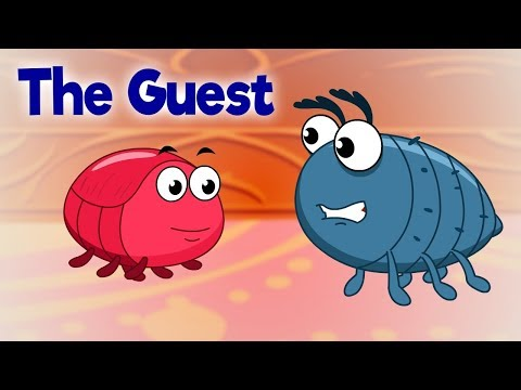 The Guest - Panchatantra In English - Cartoon / Animated Stories For Kids