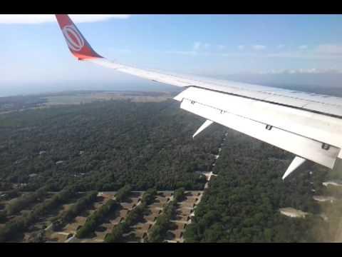 Landing Pisa airport