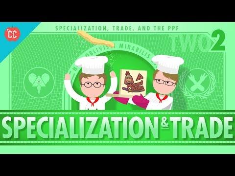 Specialization and Trade: Crash Course Economics #2