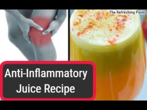 Citrus Anti-Inflammatory Juice Recipe - Made with Most Powerful Natural Anti-Inflammatory Substances