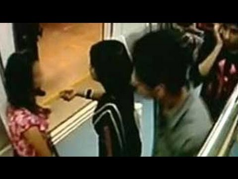 Xxx Mp4 CCTV Suggests Sexual Harassment Of Girl On Bangalore Metro 3gp Sex