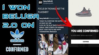 Adidas Yeezy Boost 350 V2 Beluga 2.0 Restock Live Cop