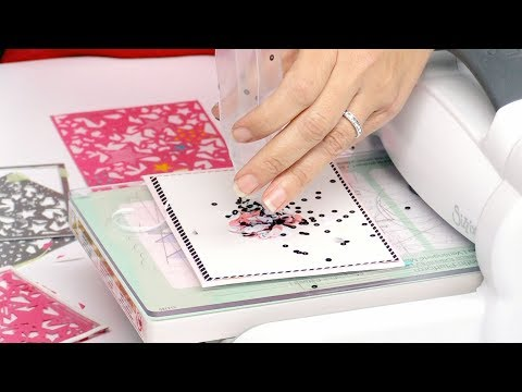 Quick and Easy Shaker Cards with Stephanie Barnard | Sizzix