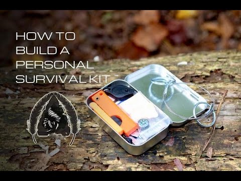 Black Scout Tutorials - How to Build Personal Survival Kit