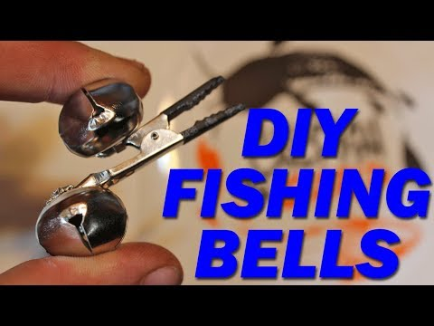 Bait fishing hack - DIY Fishing Bells - How to make fishing bite alarms.