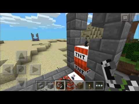 [0.8.1] Best Mini TNT Cannon Contraption - Minecraft Pocket Edition