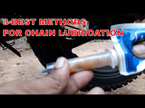 How To Clean & Lube Your Motorcycle Chain in 3-Best Ways.