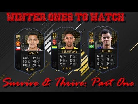 FIFA 18 Survive & Thrive: Winter OTW + Alexis Sanchez SBC Cheap Solution   We Pack a Walkout!
