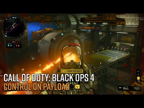 Call of Duty: Black Ops 4 Gameplay - Control on Payload
