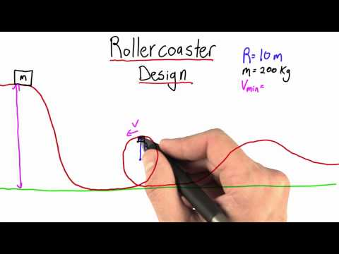 Rollercoaster Design - Intro to Physics