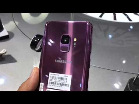 Samsung Galaxy S9 and S9+ Colour Options- Purple, Black And Blue | Intellect Digest