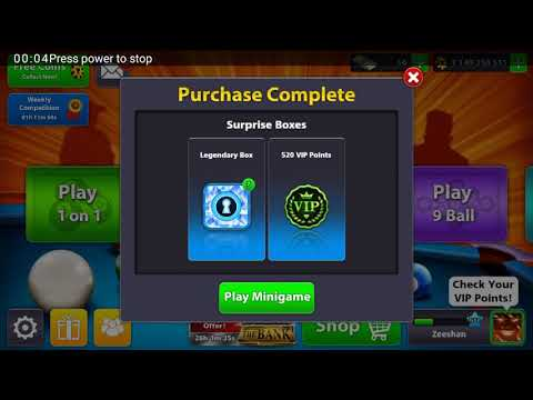 8Ballpool 7 Legendary Box just at Rs.400 only