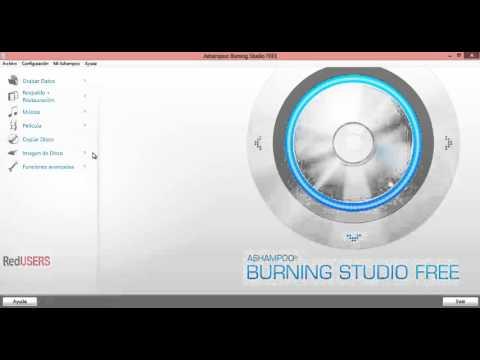 Ashampoo Burning Studio Free - RedUSERS