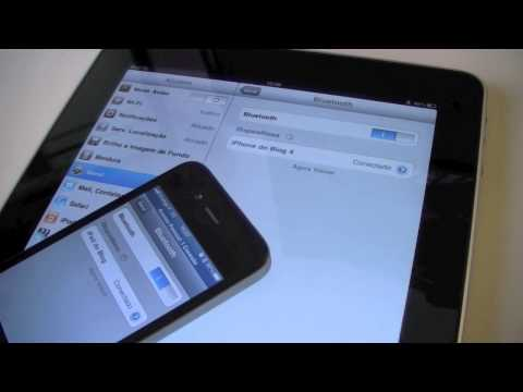 iOS 4.3 - Hotspot Bluetooth for iPad