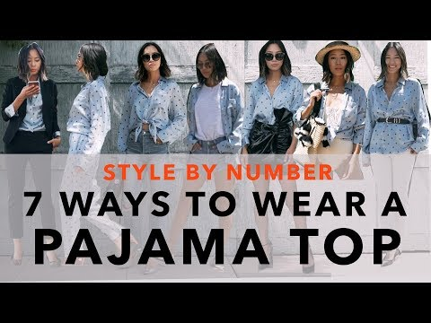 Xxx Mp4 7 Ways To Wear A Pajama Top Style By Number Aimee Song 3gp Sex